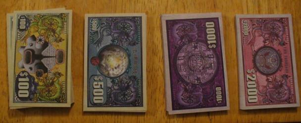 firefly juego de mesa dinero