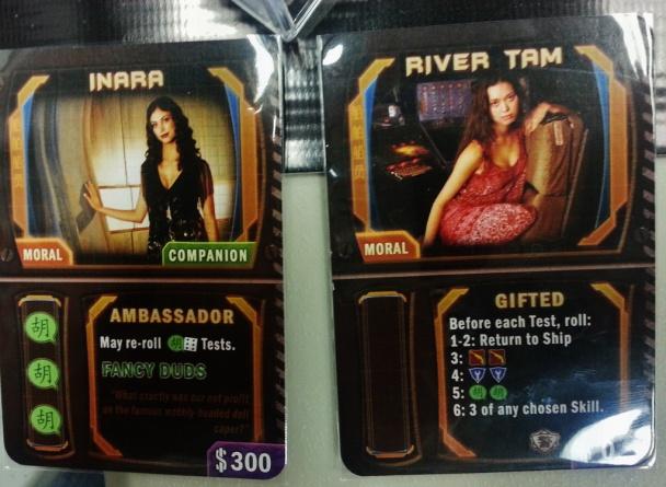 firefly juego de mesa inara river tam
