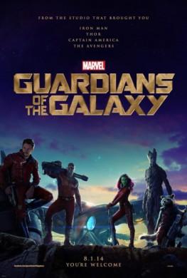 guardianes de la galaxia poster