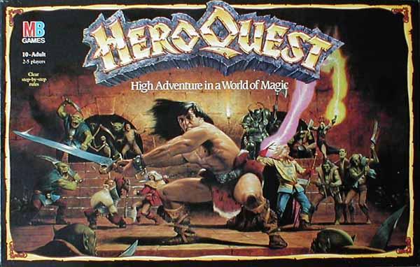 heroquest original portada