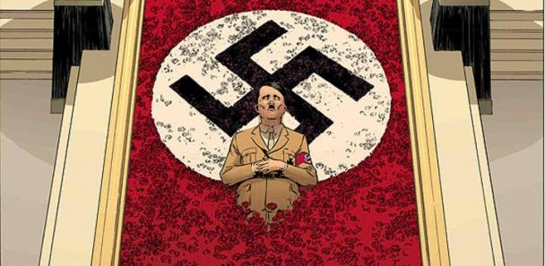 hitler-ww2-batalla-paris-www22-2.2-ww-la-otra-guerra-mundial-hinnenot-delf-chauvel-boivin-diabolo-ediciones-tomo-volumen-comic-analisis-reseña-critica-1939-muere-what-if-ucronia