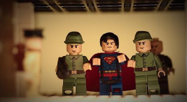 El hombre de Acero en LEGO