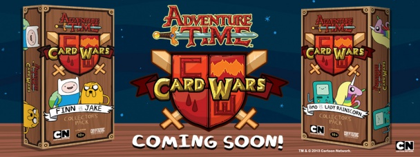 hora de aventuras adventure time card wars cryptozoic