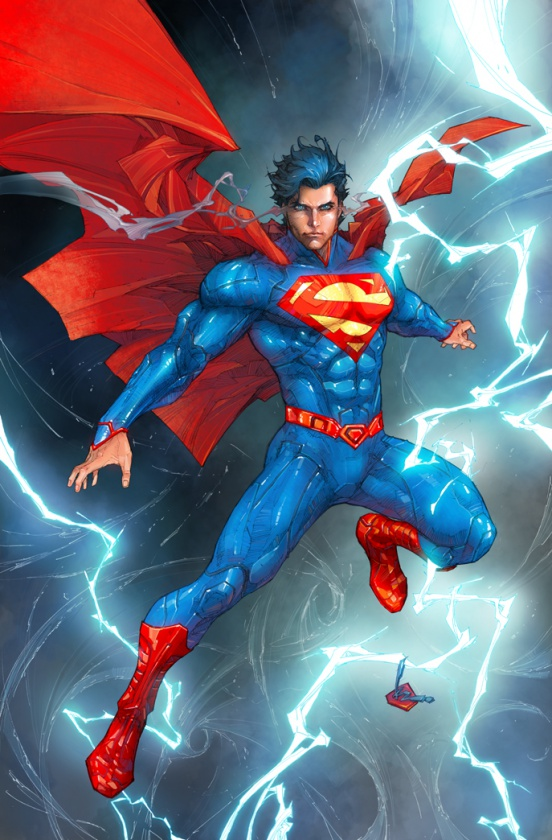 Superman, por Kenneth Rocafort