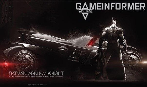 Batman Arkham Knight cover portada juego videojuego dc caratula xbox one ps4 pc