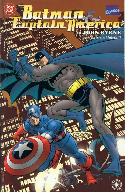 Batman & Capitán América Portada