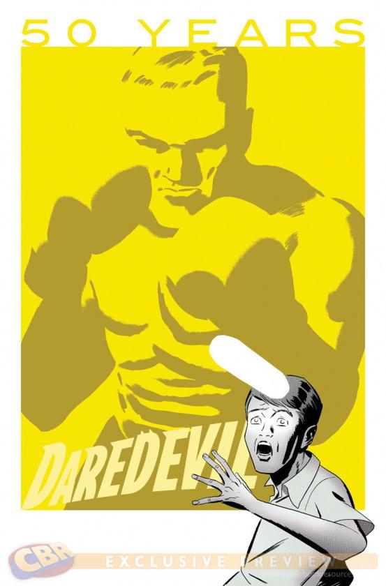 Daredevil 50 Aniversario portada 1 Marcos Martin