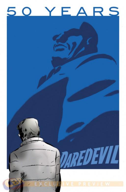 Daredevil 50 Aniversario portada 4 Marcos Martin