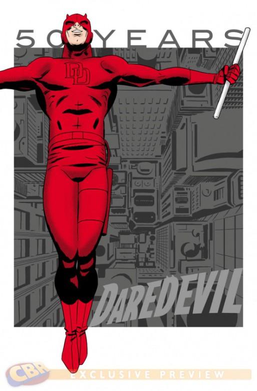Daredevil 50 Aniversario portada 5 Marcos Martin