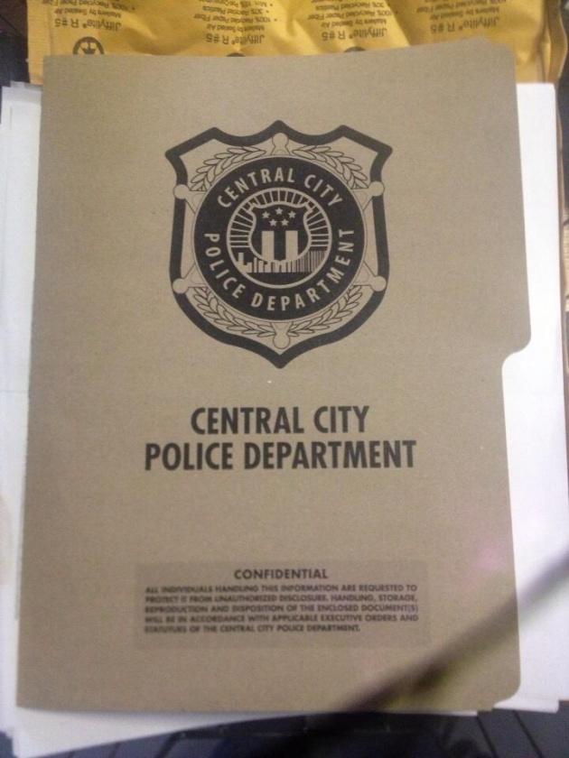 EL departamento de policia de Central City