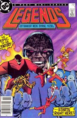 Legends DC Comics 001