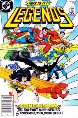 Legends DC Comics 002