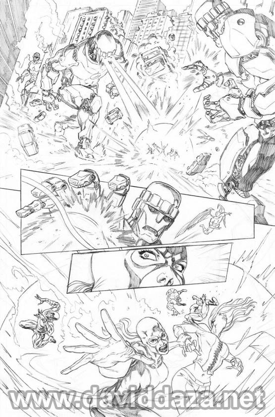 SAMPLES X-Men 2013 pencil low 03