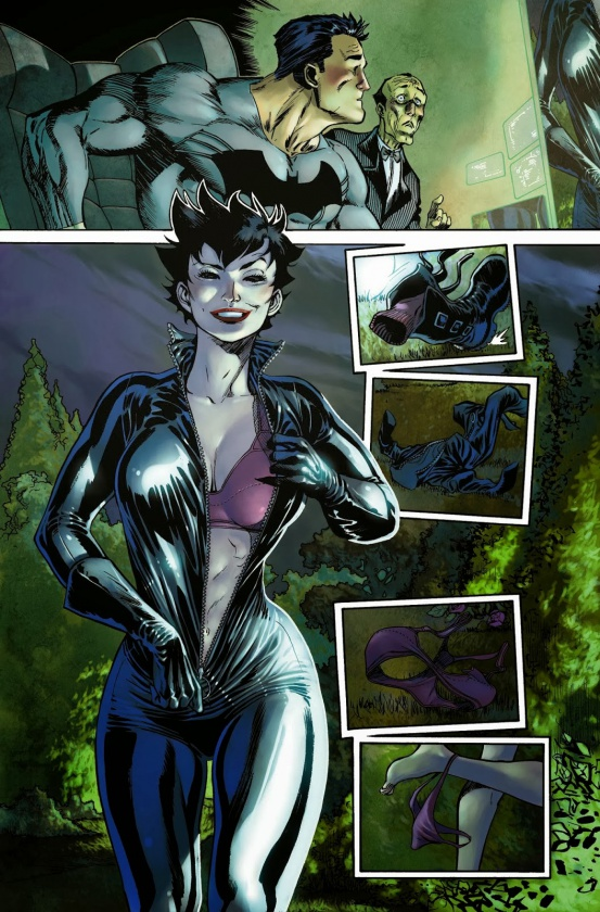 Catwoman, por Gillem March