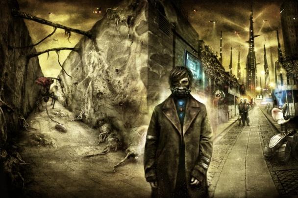 Ilustración de portada para la edición americana de Subterranean Press