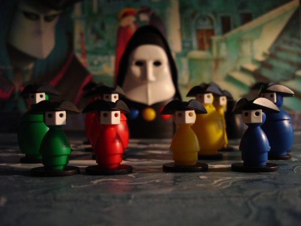 juego de mesa devir inkognito piezas de juego