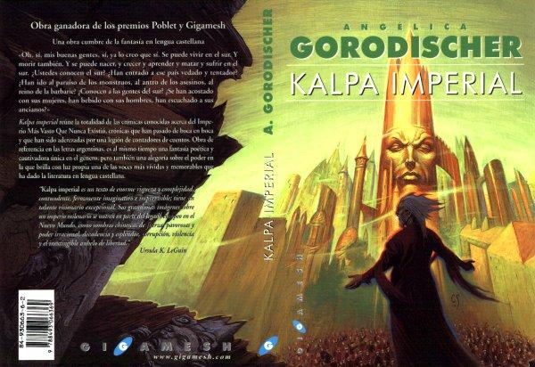 Kalpa imperial de Angélica Gorodischer, editada por Gigamesh con portada de Corominas