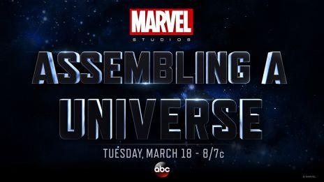 logo marvel estudios assembling a universe