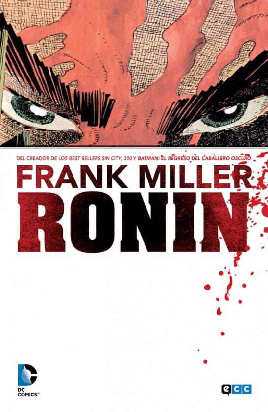 Portada de Ronin de Frank Miller editado por ECC