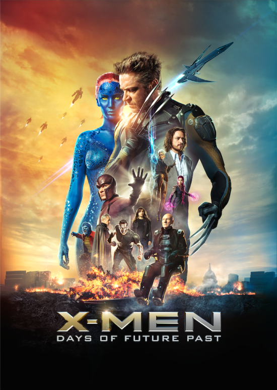 x-men-days-of-future-past nuevo póster