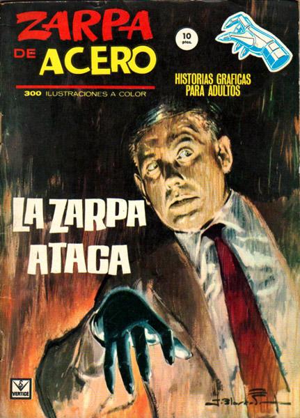 """Portada de """"La Zarpa de Acero"""", de los hermanos Blasco"""