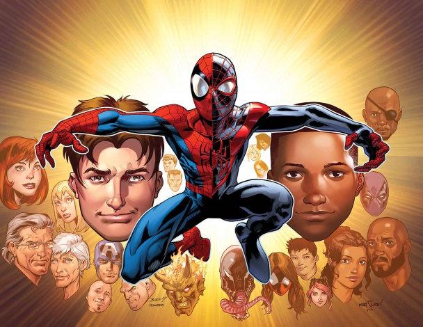 3684460 ultimate spider man 200 covers