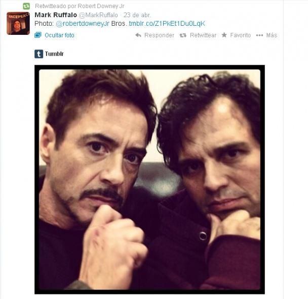 Avengers-2-Ruffalo-con-RDJ