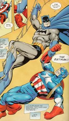 Batman-Capitán América 1
