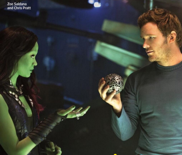 GOTG - Gamora and Star-Lord