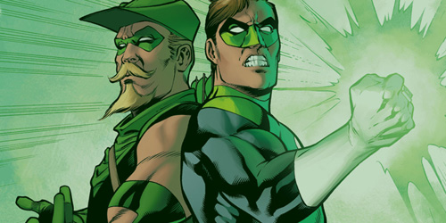 Green Arrow - Green Lantern 01