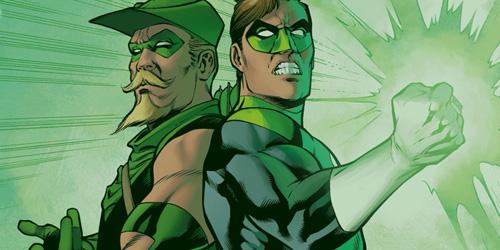 Green Arrow - Green Lantern 01