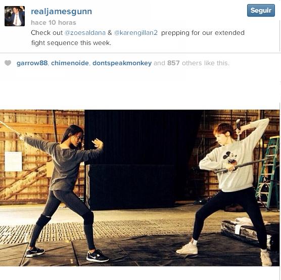 James Gunn instagram GOTG