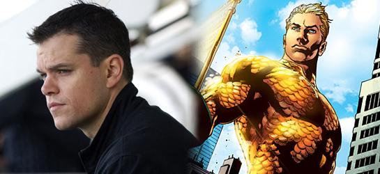 Matt Damon Aquaman