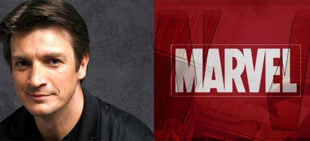 Nathan Fillion en Marvel