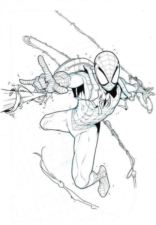 Spiderman por Iban Coello