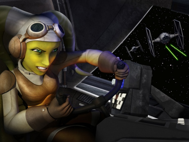 Star Wars Rebels - Hera 02
