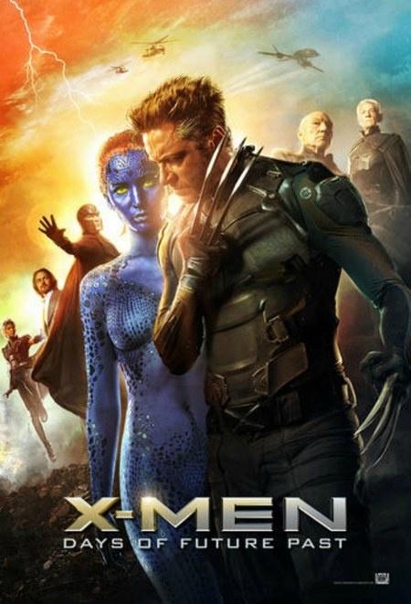 X-Men Dias del futuro pasados cartel 1