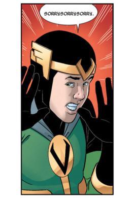 Loki haciendo lo que mejor sabe