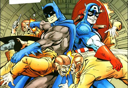 batman captain america 2