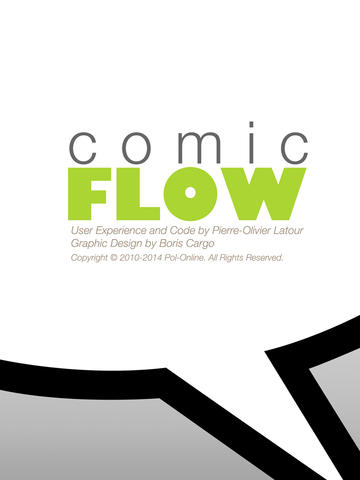logo comic flow