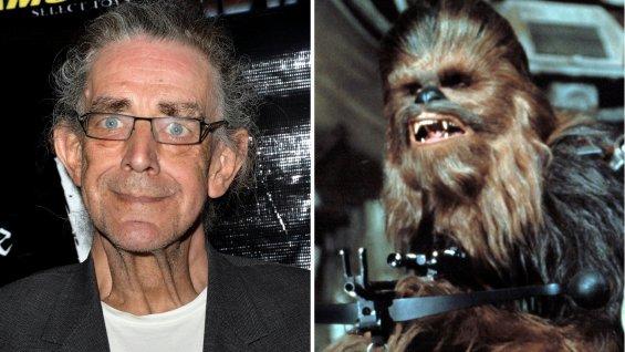 Peter Mayhew Star Wars VII