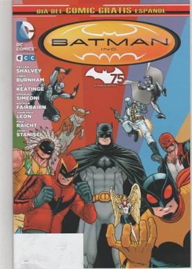 portada batman dia del comic gratis