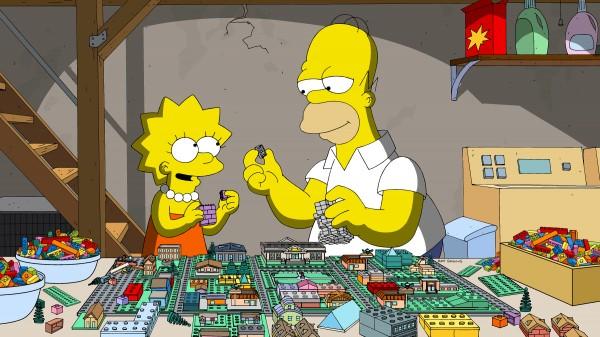 Simpson Lego