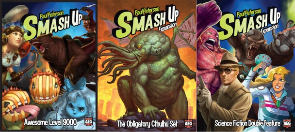 smash up expansiones