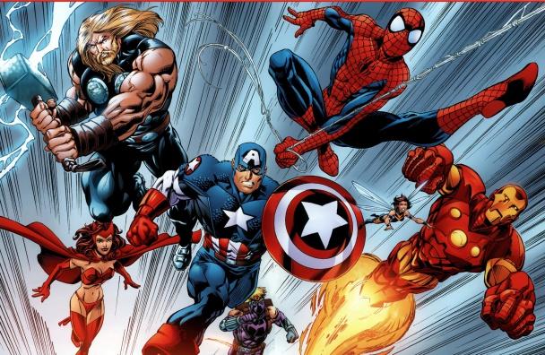 spider man vengadores