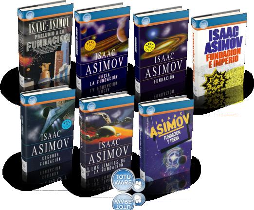 """Los siete libros de la saga """"Fundación"""""""