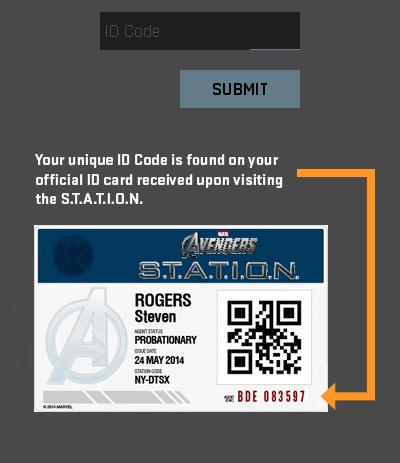 Avengers S.T.A.T.I.O.N ID-Card