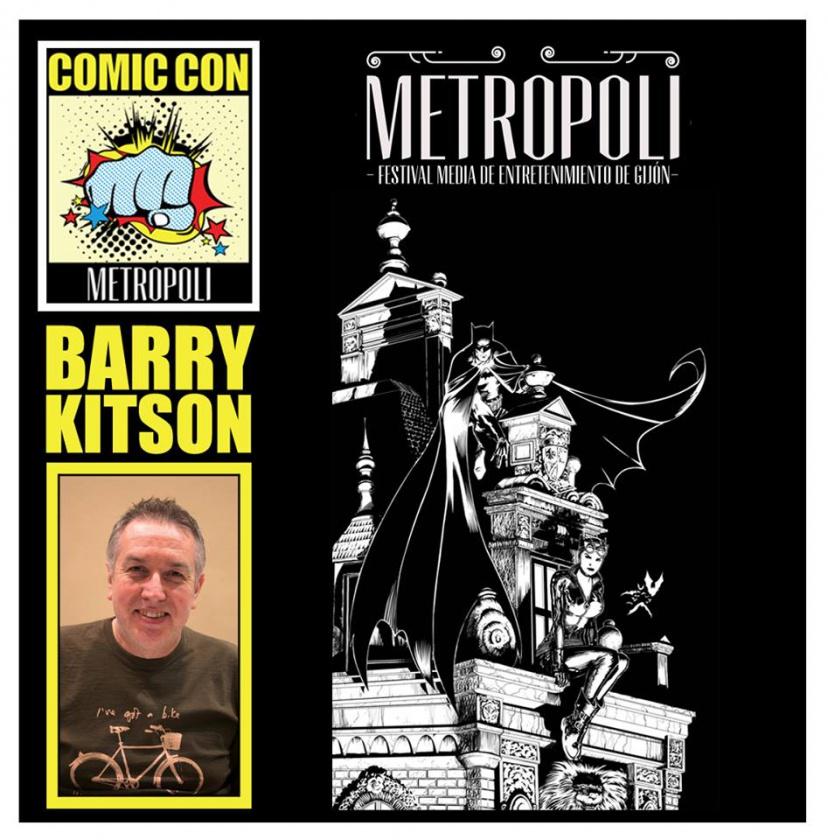 Barry Kitson en Comic-Con Metrópoli