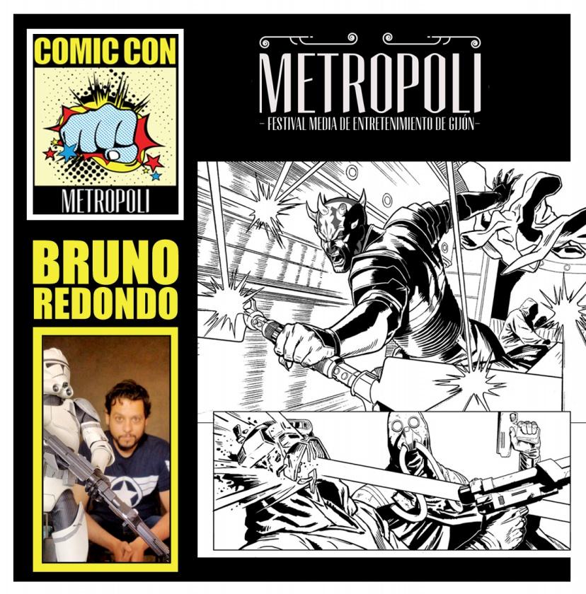 Bruno Redondo Comic-Con Metrópoli