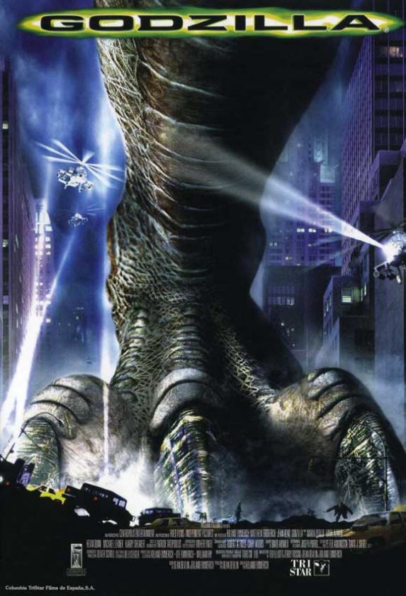 Cartel Godzilla